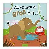 YourSurprise Personalisiertes Kinderbuch: Aber, wenn ich groß Bin..., XXL-Version Kinderbuch mit Namen PERSONALISIERBAR, Hardcover