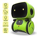 REMOKING Intelligent Roboter Kinder Spielzeug, Interaktives Roboter Lernspielzeug, Geschenke für Jungen und Mädchen, Touch-Steuerung, Sprachsteuerung, Sprachaufnahme, Nachsprechen, Tanzen, Musick