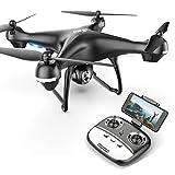 Eanling by Holystone FPV Drohne HS100G mit 1080P HD Kamera und GPS return home,RC Quadrocopter ferngesteuert mit 5G live Übertragung,Lange Flugzeit,Follow Me,Handysteuerung Coming Home für Anfänger