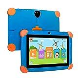 Xgody Kinder Tablet 17,8 cm (7 Zoll), 17,8 cm (7 Zoll) HD Display Edition für Kinder, Android 8.1 GMS, 16 GB, Quad Core, Blau blau blau 7' Display