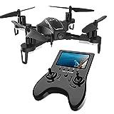 Holy Stone FPV HS230 RC Racing Drohne mit 720P HD Kamera Live Übertragung,hohe Geschwindigkeit Quadrocopter ferngesteuert mit 5.8G LCD, Kopfloss Modus,high Speed,Lange Flugzeit für Anfänger Experte