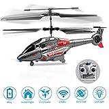 KOOWHEEL RC Hubschrauber, Fernsteuerungshubschrauber mit Kreisel und LED-Licht 3.5 Kanal gyro Single Mini Military Series Hubschrauber für Kinder RC Hubschrauber Spielzeug für Kinder und Erwachsene