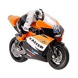 Hunpta JXD 806 RC Motorrad Maßstab 1/16 4CH 2.4G Stunt Drift Moto Radio elektrisches Spielzeug (orange)