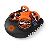 EACHINE E016F Boot Drohne Ferngesteuertes Boot Racing Hovercraft Abnehmbar Amphibious Vehicle Spielzeug Mini Drohne für Kinder RC Multifunktional Boot Geschenk