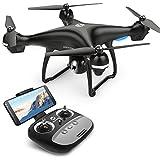 Holy Stone HS100 RC GPS Drohne mit 1080P Kamera HD und Live Übertragung,Quadrocopter ferngesteuert mit Follow Me,Auto Retun to Home,Lange Flugzeit,Höhenhaltung,Handy gesteuert für Anfänger und Kinder