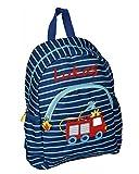 Spiegelburg 14192 - Feuerwehr Kindergarten-Rucksack mit Namen beschriftet