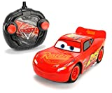 Dickie Toys 203084003 - RC Cars 3 Turbo Racer Lightning McQueen, RC-Fahrzeug, ferngesteuertes Auto, 1:24, 17 cm