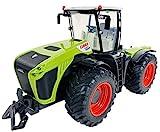 BUSDUGA RC Ferngesteuerter Traktor CLAAS 5000 XERION 1:16 schwenkbare Kabine, Doppellenkung 2,4Ghz RTR inkl. Akku kompatibel zu den Bruder Anhänger