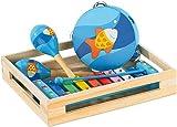 Playtastic Xylophon Kinder: Fröhliches Instrumente-Set für kleine Musikanten (Tamborin)