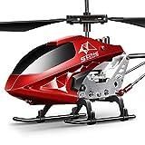 SYMA S107H-E Ferngesteuerter Hubschrauber RC Helicopter 3.5 Kanal 2.4 G LED Leucht und Gyro-Technik Geschenk für Kinder