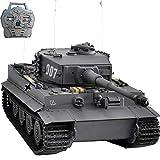 HOOBEN New RC RTR-Panzer 1:10 Tiger1 späte Produktion Panzer halbes Metall