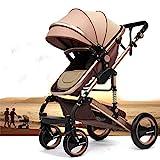 Kinderwagen 'California', 3 in 1 Kombikinderwagen Megaset 8 teilig inkl. Babywanne, Babyschale, Sportwagen und Zubehör, zertifiziert nach der Sicherheitsnorm EN1888