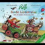 Rolfs Bunte Liederreise. Mit 24 Liedern durch das Jahr (+ 112 Seiten Bilderbuch)