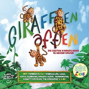 Kinderlieder CD - Giraffenaffen