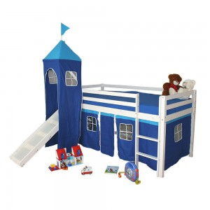 Kinderhochbett mit Rutsche - Kinderbett mit Spaß | {Kinderhochbett mit rutsche 25}