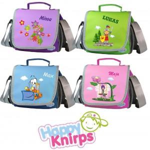 Kindergartentasche mit Namen und Motiv Platz 3