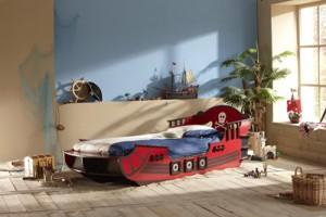Kinderbett hubschrauber  Kinderbett 90x200 cm - Auto, Schloss oder Piratenschiff